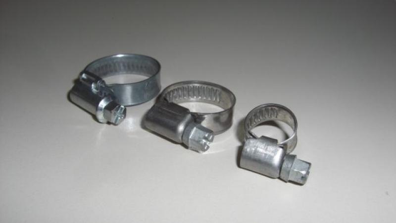 Schlauchschellen 16 - 30 mm - 10 Stück