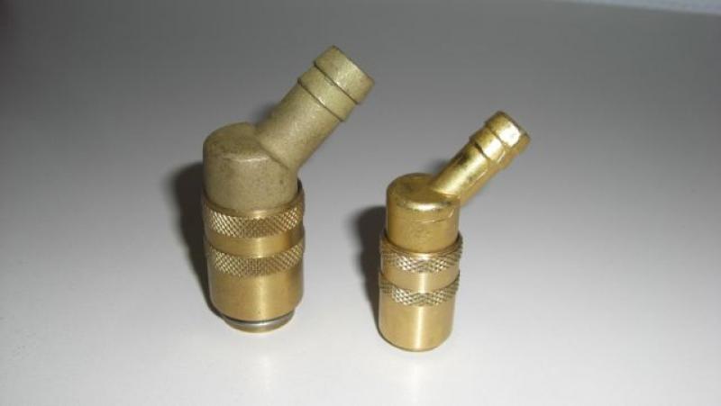 WKH 9mm 45 Grad,  ohne Ventil, 10er Set